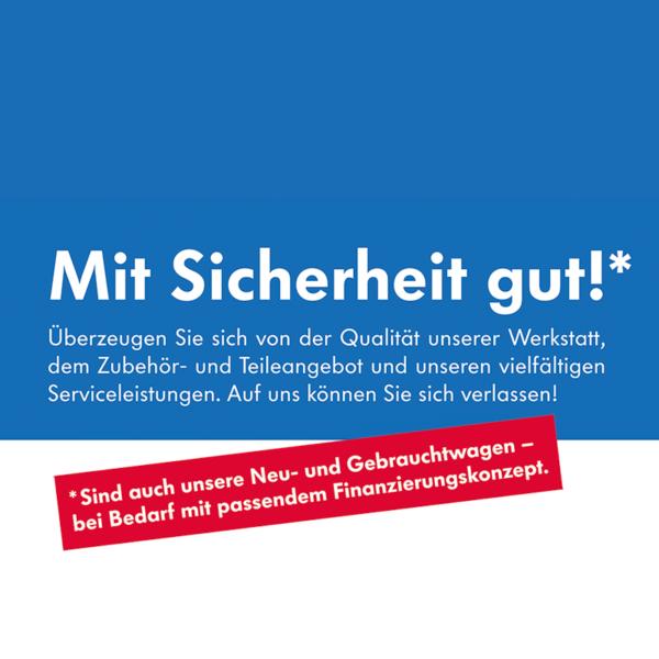 Fassadenbanner und andere Werbemaßnahmen für Fisser & Scheers